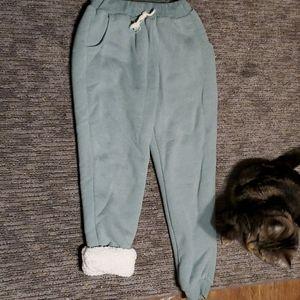 Palo cotton cashmere sweatpants